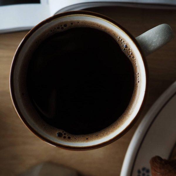 Bryggkaffe i kopp